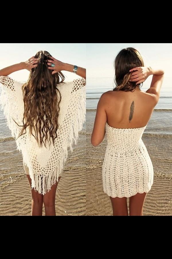 dress poncho