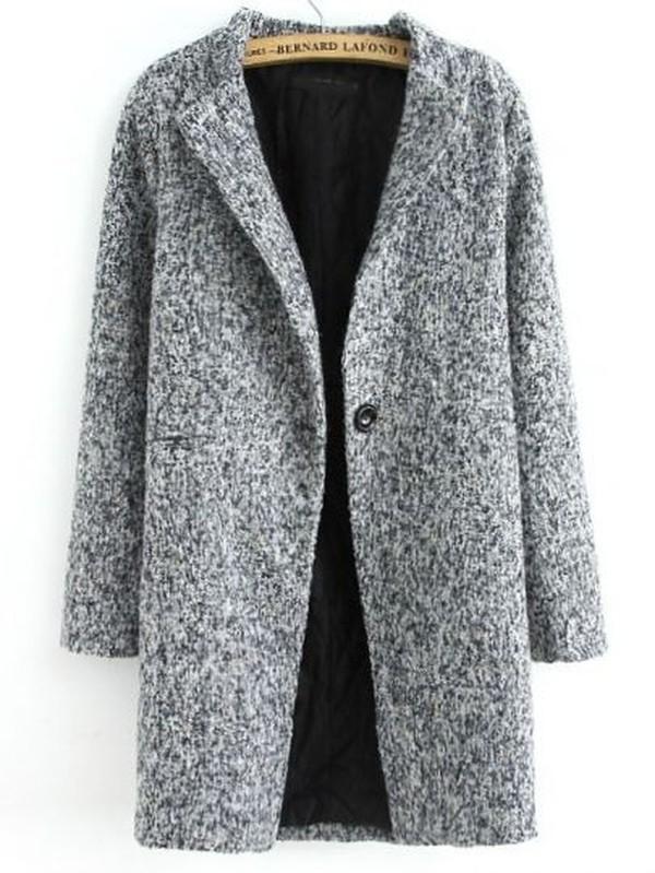 coat grey long
