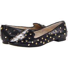 MICHAEL Michael Kors Ailee Studded Flat Black - Zappos.com Free Shipping BOTH Ways
