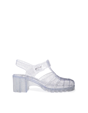 ASOS | ASOS HEY! Heeled Jelly Shoes at ASOS