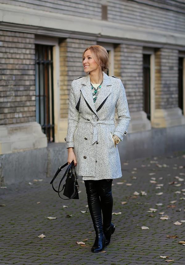 fashion spot coat shoes sweater bag jewels