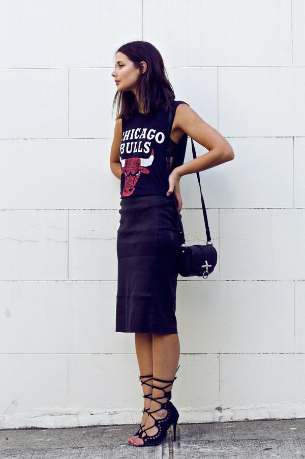 harper & harley tank top skirt shoes bag