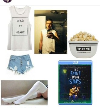 tank top wild at heart the vamps