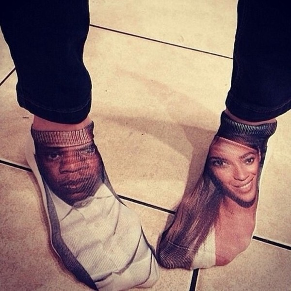 socks beyonce Jay Z shawn carter beyonce jayonce beyonce and jay z diva white carter's bey queen b beyonce concert