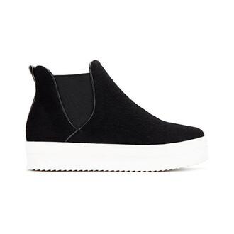 shoes black and white shoes flats slip on shoes black velvet
