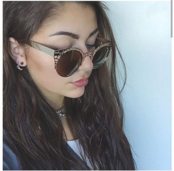 sunglasses andrea russett