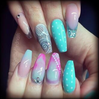 nail polish tiffany nail art