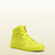 Gucci - coda neon yellow leather sneaker 323812DBL507102