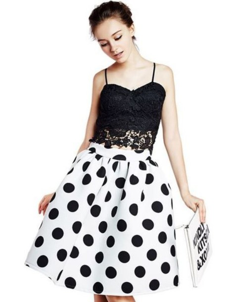 Trendy High Waist Skirt