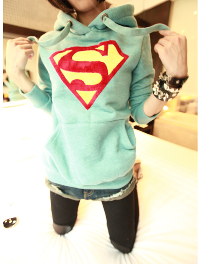 Free shipping!Superman Hoodies  Mint 2 size from ego_superman on Storenvy