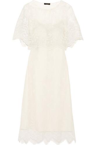 dress midi dress midi lace white