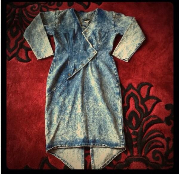dress vintage jean dress