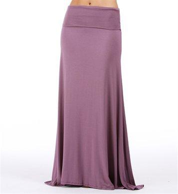 Light Purple Maxi Skirt on Wanelo