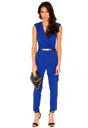 Jerma Crossover Tailored Jumpsuit - Jumpsuits & Playsuits - Clothing - Missguided