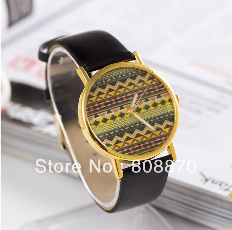 Tilde Tone quartz Watch gold for women dress watch unisex brand PU strap Casual Watches analog-in Wristwatches from Watches on Aliexpress.com