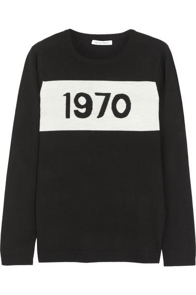 Bella Freud|1970 merino wool sweater|NET-A-PORTER.COM