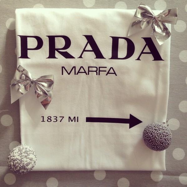 t-shirt white t-shirt t-shirt black prada holiday gift