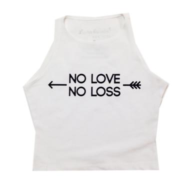 No Love No Loss Sleeveless Crop - Lauren Alexandra NY