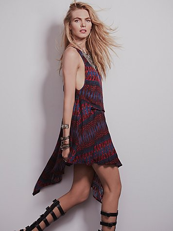 Free People  Fleeting Moment V Back Dress at Free People Clothing Boutique
