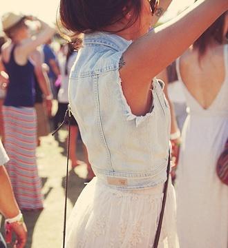 jacket denim vest jeans vintage denim vest acid wash sleeveless dress hipster