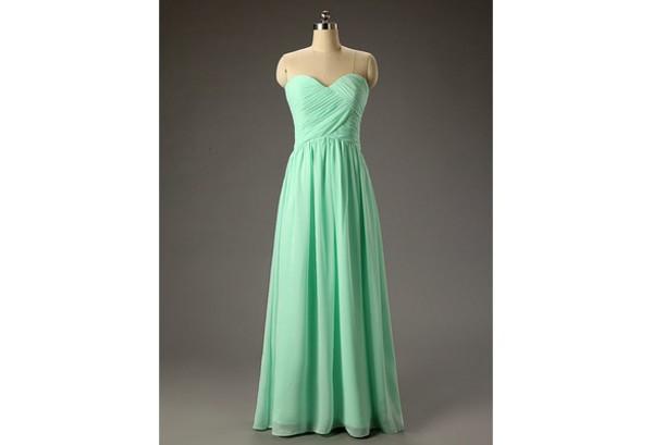 dress mint dress long prom dress long bridesmaid dress mint bridesmaid dress long evening dress