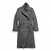 Coach :: WOOL FITTED BASIC COAT