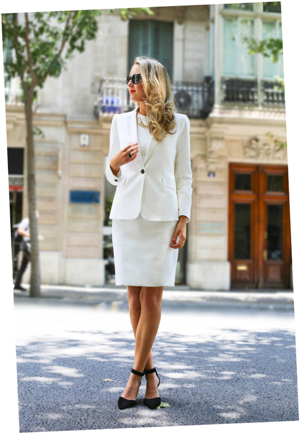 the classy cubicle jacket shoes jewels sunglasses