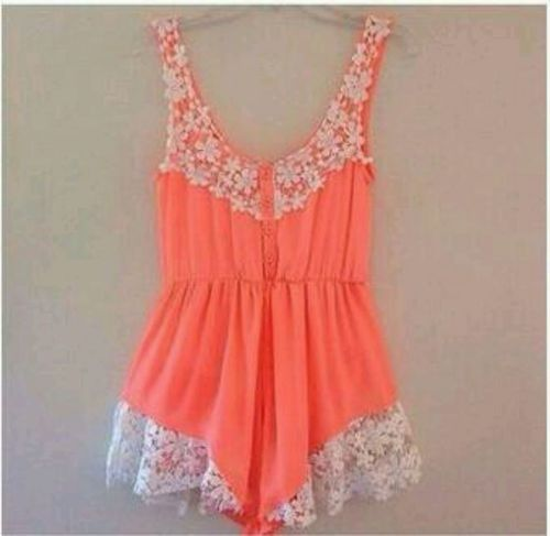 Spring Summer Crochet Lace Romper 3 Colors Your Pick | eBay