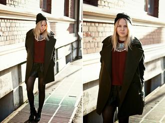 bag shoes jewels sweater coat shorts elenita hat