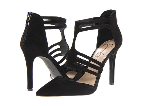 Jessica Simpson Clementh Black Kidsuede - Zappos.com Free Shipping BOTH Ways