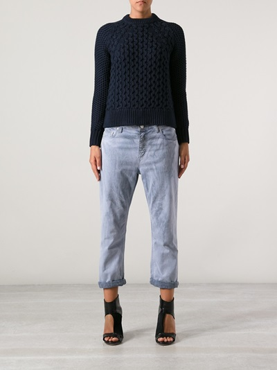 Acne 'ruth Air' Sweater - Stylepaste - Farfetch.com