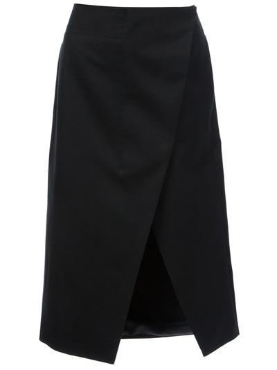 Stella Mccartney 'desiree' Asymmetric Split Skirt -  - Farfetch.com
