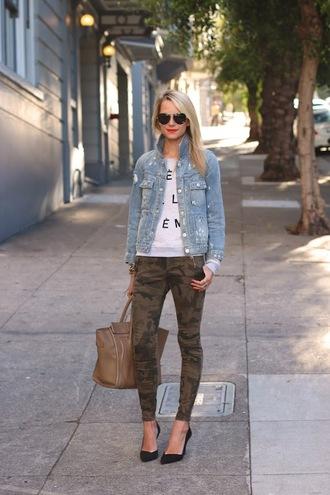 atlantic pacific jacket t-shirt jeans shoes bag sunglasses jewels sweater pants camouflage