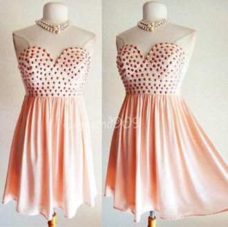 dress short dress short dresses 2014 party dress prom dress rivets skater dress flare bandage dress strapless dress cute dress