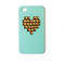 Gold studded heart iphone 4/4s/5 case- mint | gather boutique for womens clothing, accessories and jewelry