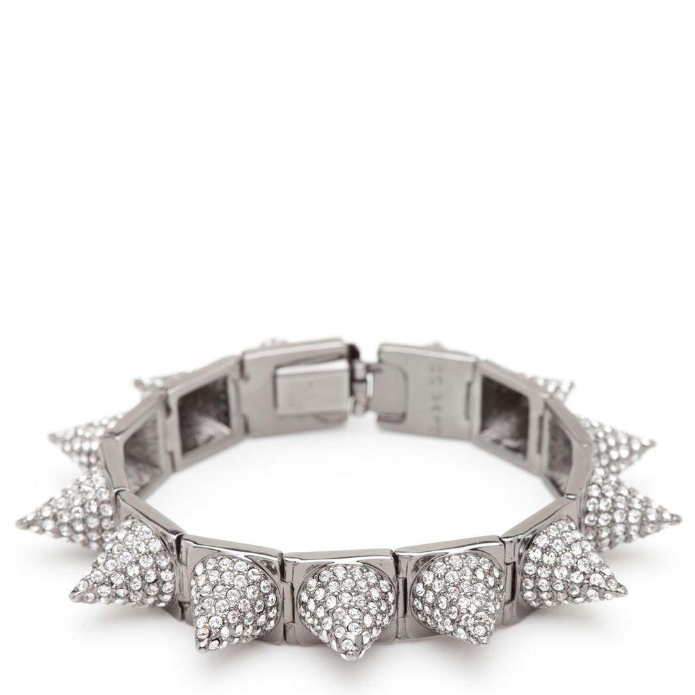 CC Skye Punk Princess Pave Spike Bracelet | eBay