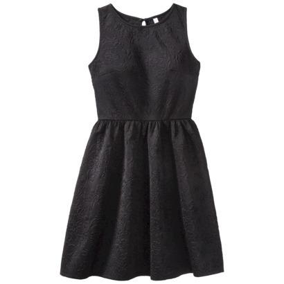 Xhilaration® Junior's Sleeveless Scuba Dress... : Target