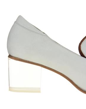 ASOS White   ASOS WHITE WARWICK Leather Loafers at ASOS