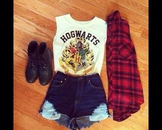 blouse hogwarts harry potter shoes
