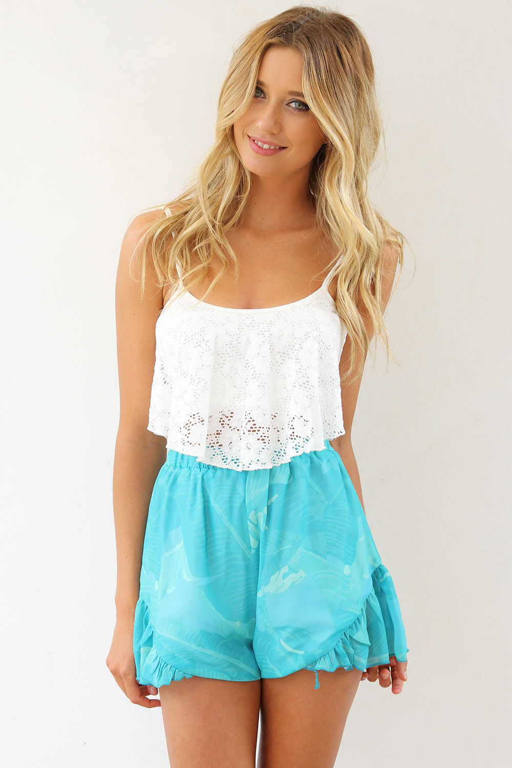 White Sleeveless Top - White Sleeveless Crop Top with   UsTrendy