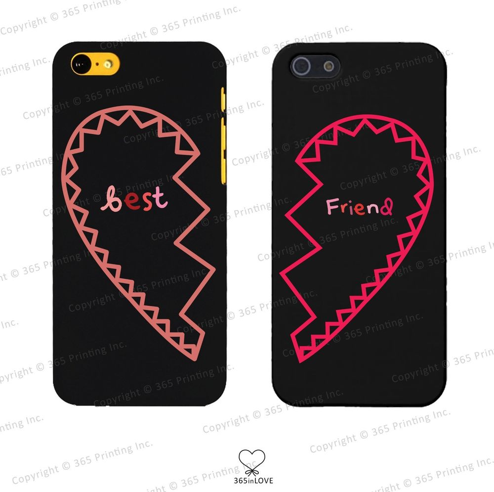 Best Friends Matching Phone Case Set for BFF iPhone 4 4S 5 5c Galaxy S3 S4 | eBay
