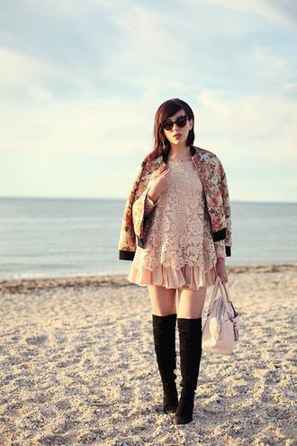 keiko lynn dress jacket shoes sunglasses bag jewels