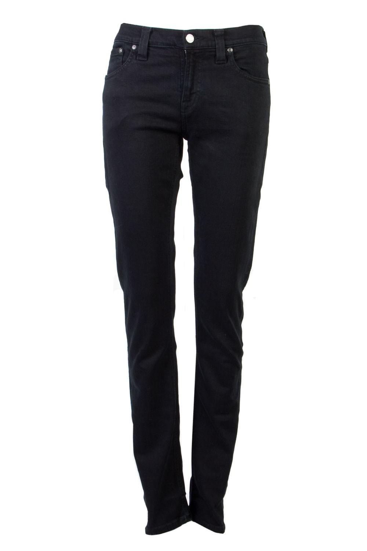 Nudie Jeans Co / Tube Kelly Black Black Jeans  / Outlet,Outlet - 03 March 2013,Jeans  - Superette | Your Fashion Destination.