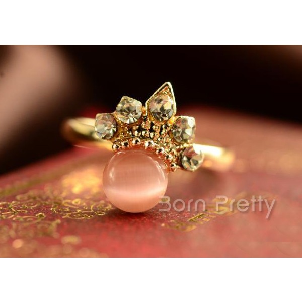 $1.29 1pc Sweet Candy Ring Fashion Cute Daisy Flower Adjustable Ring - BornPrettyStore.com