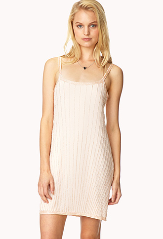Deco Beaded Dress | FOREVER21 - 2000091032