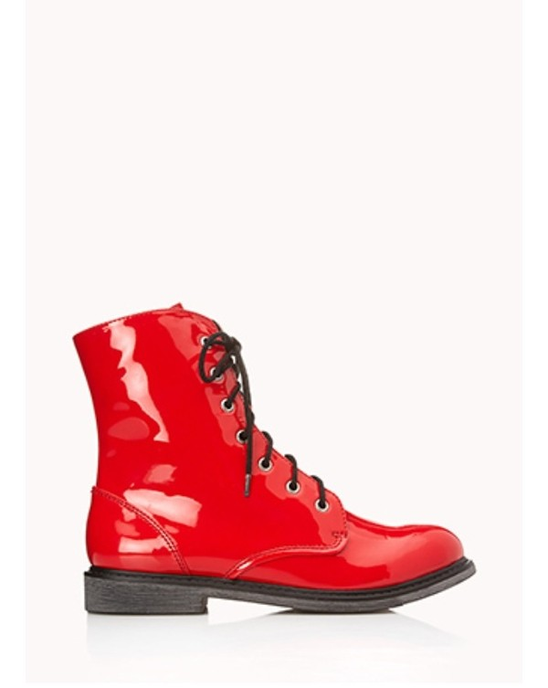 shoes red boots