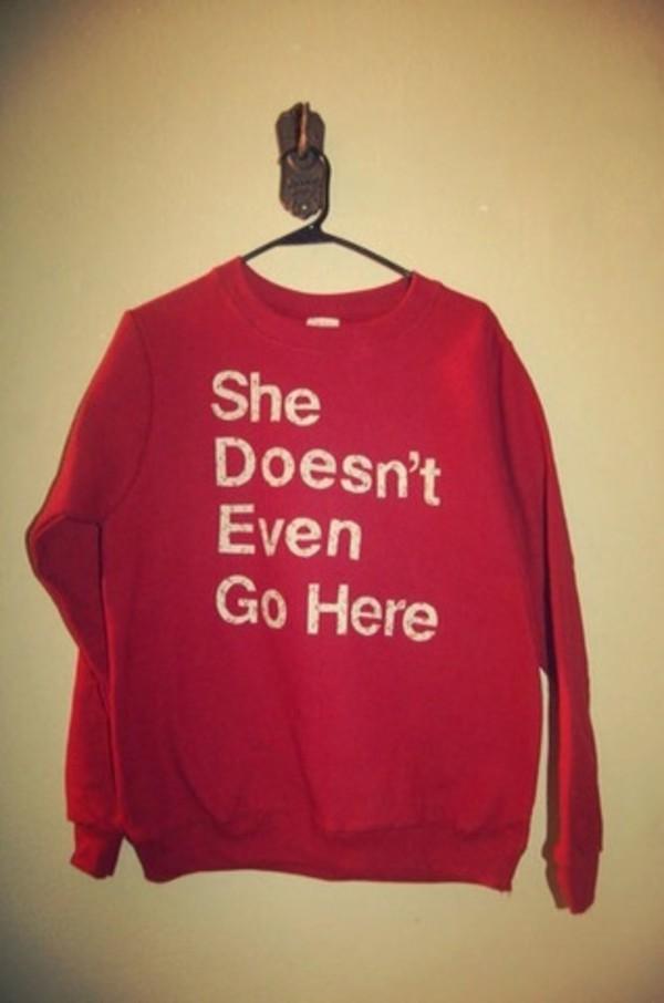 sweater mean girls