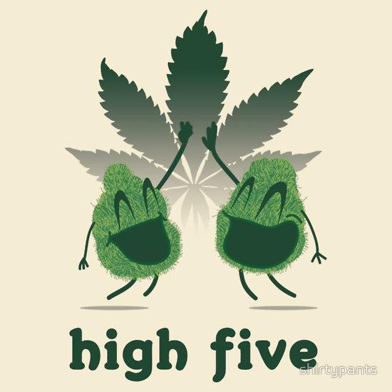 """High Five"" T-Shirts & Hoodies by shirtypants   Redbubble"