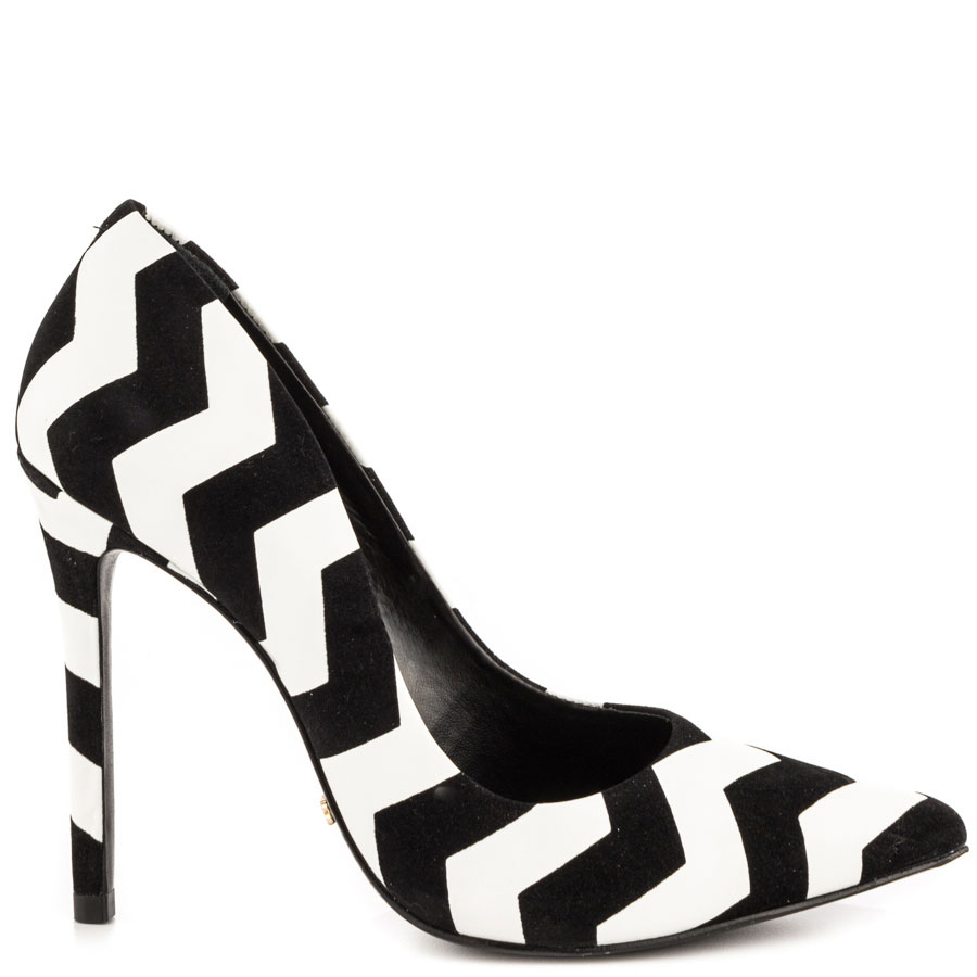 Gilberta - Maxi Zig Blk Wht, SCHUTZ, 229.99, FREE 2nd Day Shipping!