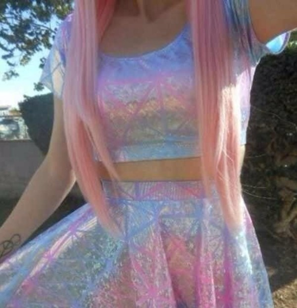 dress pastel pastel goth pastel grunge grey kawaii shirt blouse skirt fluffy cool 90s style goth